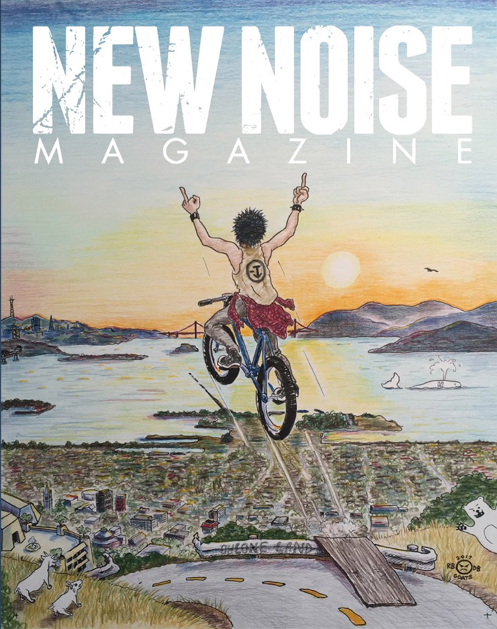 Illustration - New Noise Magazine Cover